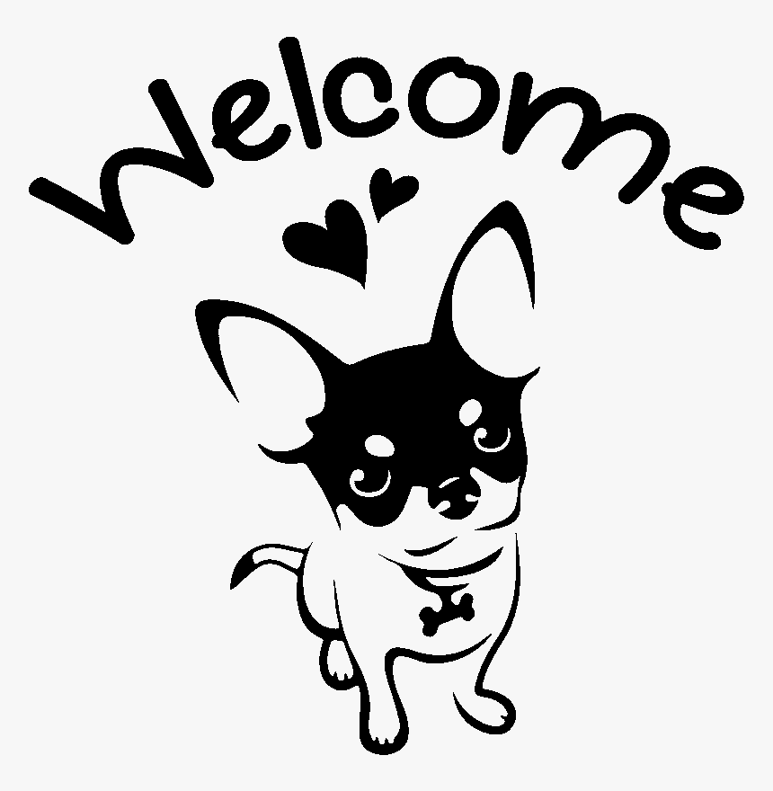 Download Love My Chihuahua Svg, HD Png Download , Transparent Png ...