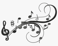 Note Clipart Singing - Transparent Background Music Notes Png, Png ...