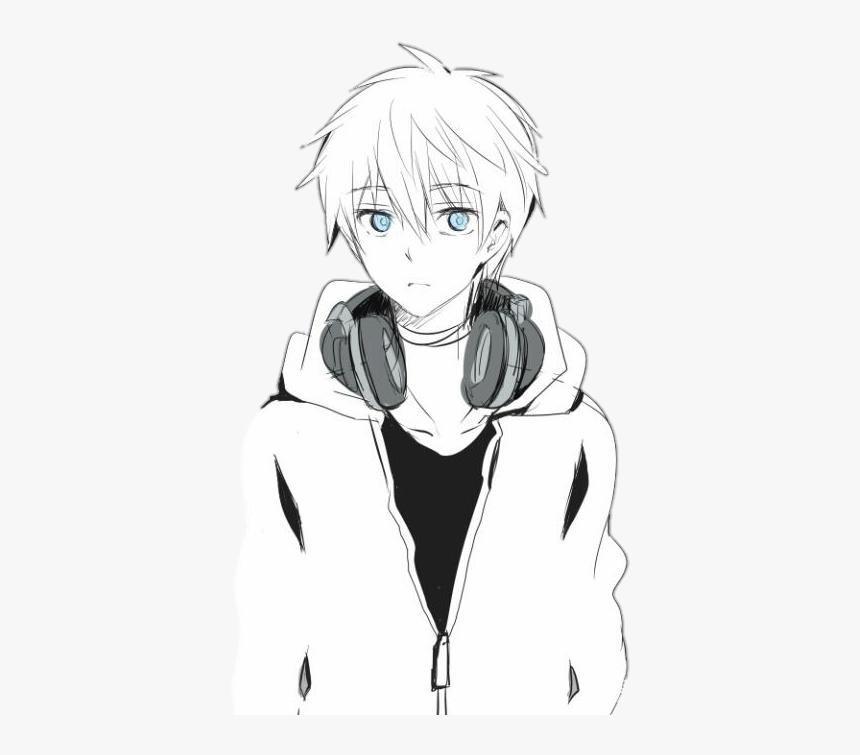 pic White Hair Boy Anime Child anime boy white hair hd png download