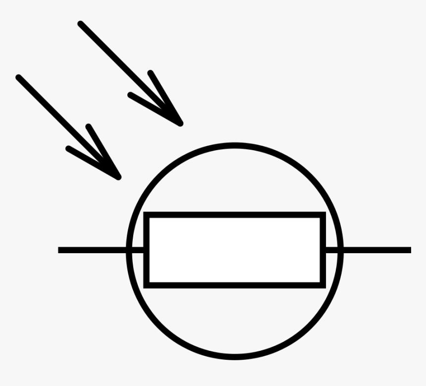 Light Dependent Resistor Schematic Symbol