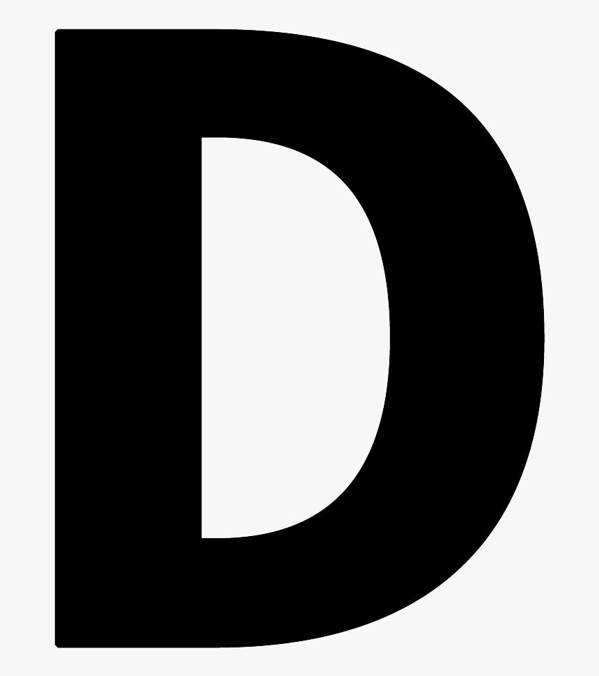 Letter D Png - Litera D Transparent Png  Transparent Png ...