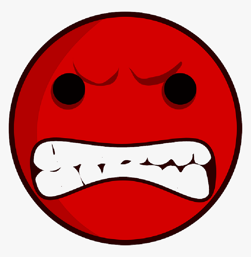 Red Sad Face Clip Art Angry Face Clipart Hd Png Download Transparent Png Image Pngitem