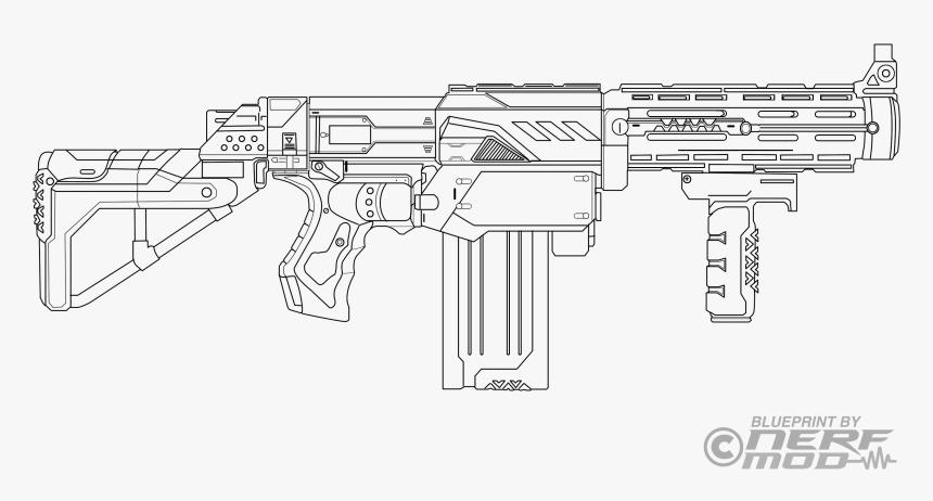 Transparent Pistol Drawing Png Nerf Guns Coloring Pages Png Download Transparent Png Image Pngitem
