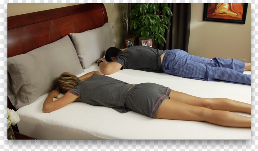 face down sleeping bed transparent png