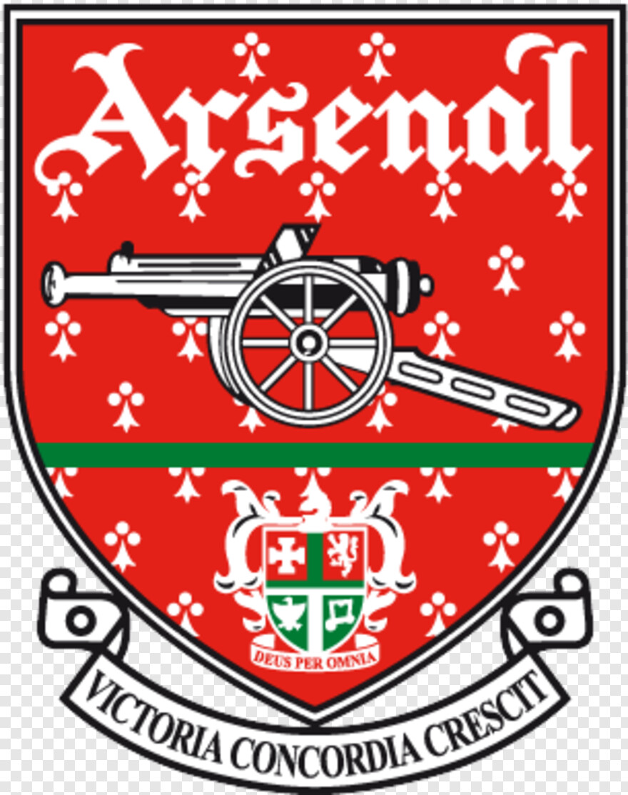 arsenal old school arsenal badge png