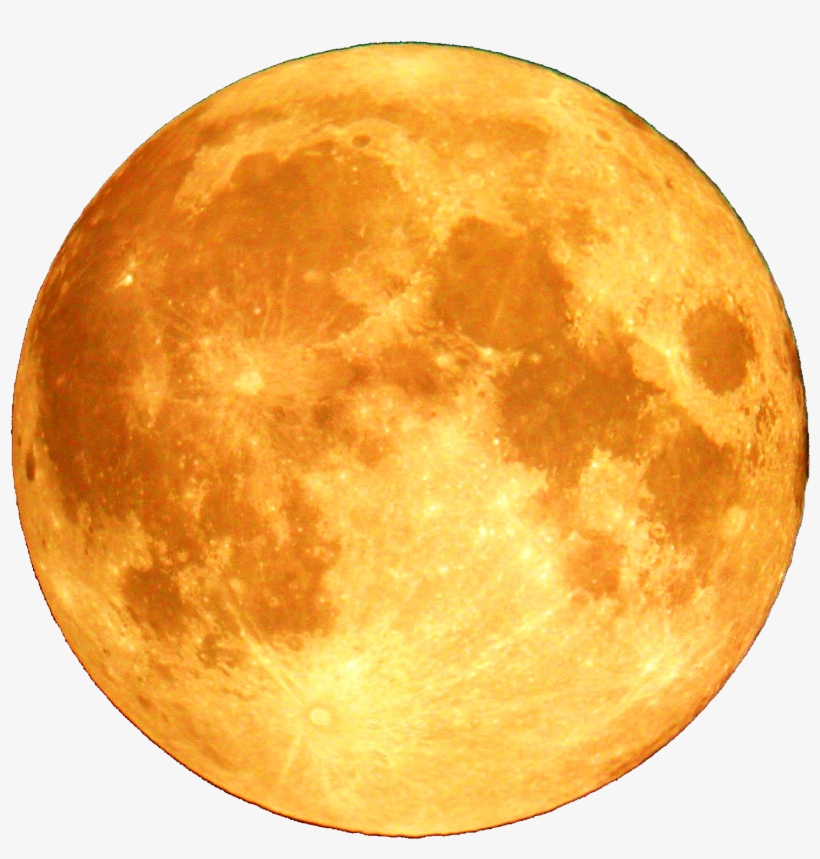 yellow moon png banner