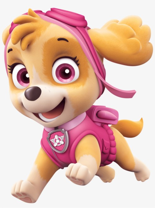 small resolution of pink dog bone clipart skye paw patrol png