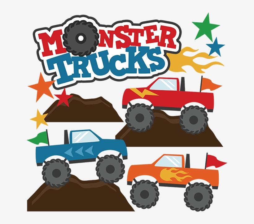 Download Monster Trucks Svg Scrapbook Collections Monster Trucks ...