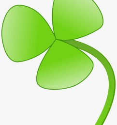 shamrock clipart clover flower flower with 3 leaves [ 820 x 1127 Pixel ]