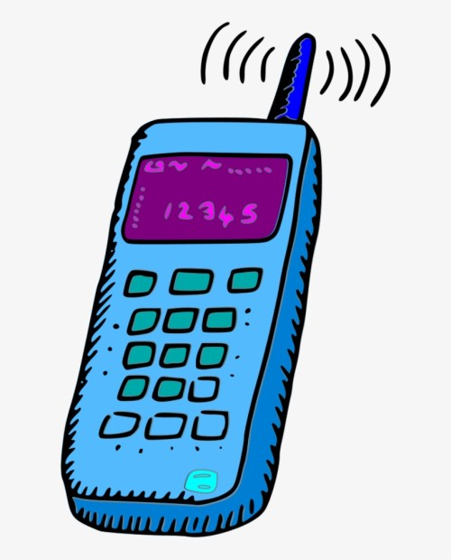 small resolution of analogue mobile phone mobile phone clipart png