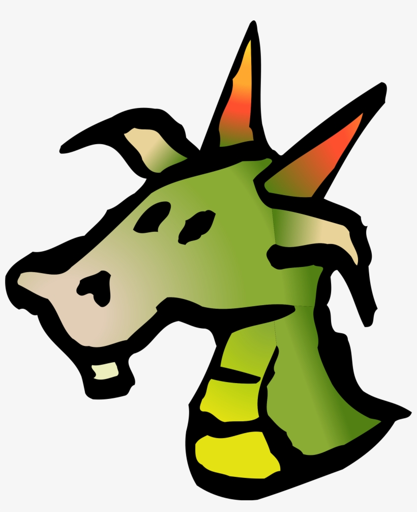 hight resolution of clipart dragon realistic dragon head clipart