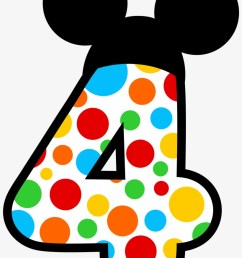 ibvsnbiyfuchdr mickey mouse number 3 clipart [ 820 x 1220 Pixel ]