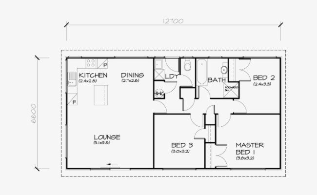 Gogle Drawing House 3 Bedroom Small House Floor Plans