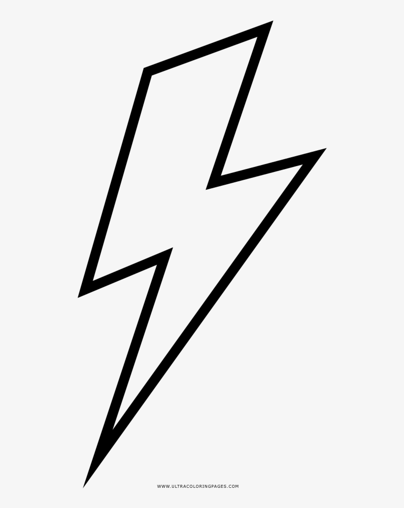 Lightning Bolt Coloring Page Ultra Coloring Pages Png