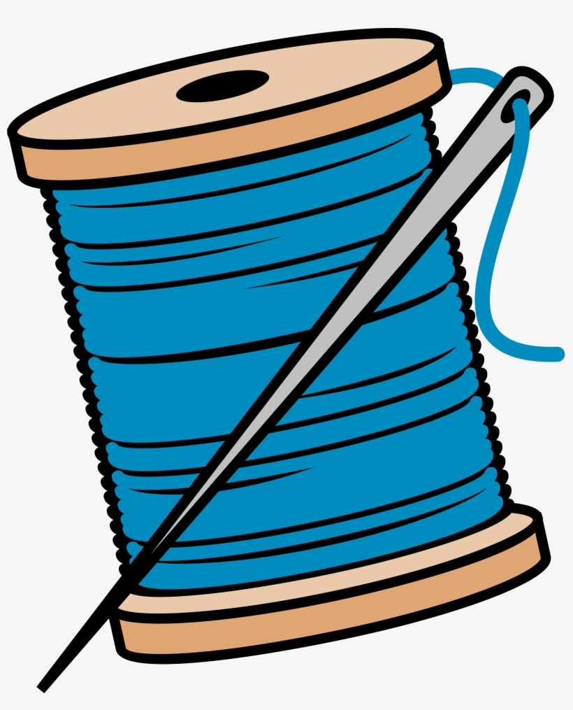 medium resolution of needle and thread sewing needle and thread clipart