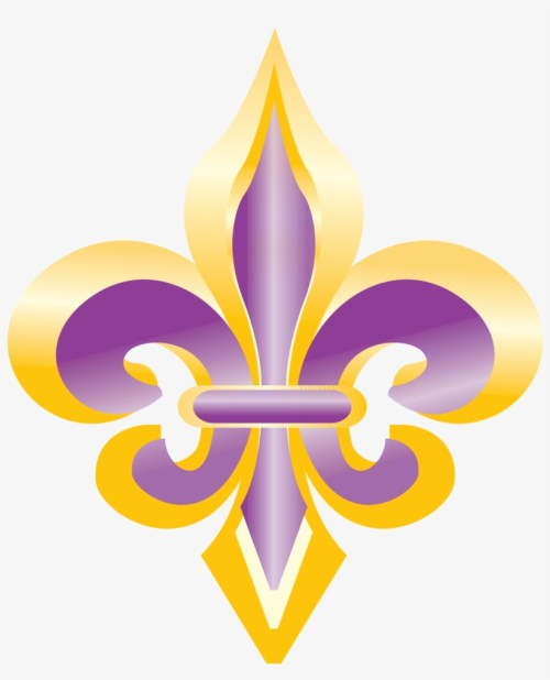 small resolution of purple and gold fleur de lis clip art fleur de lis 3
