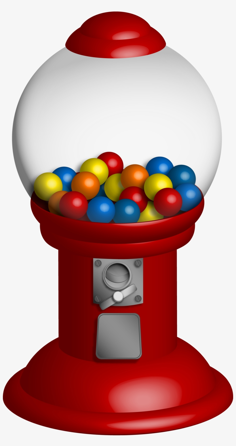 hight resolution of gumball machine clipart bubble gum machine png