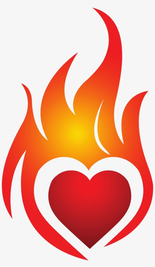 small resolution of 28 collection of heart on fire clipart heart on fire logo
