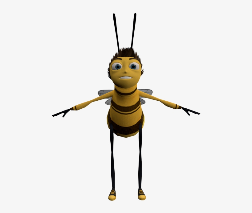 Image Result For Bee Movie Wikipedia Barry B Benson 3d Model Free Transparent Png Download Pngkey