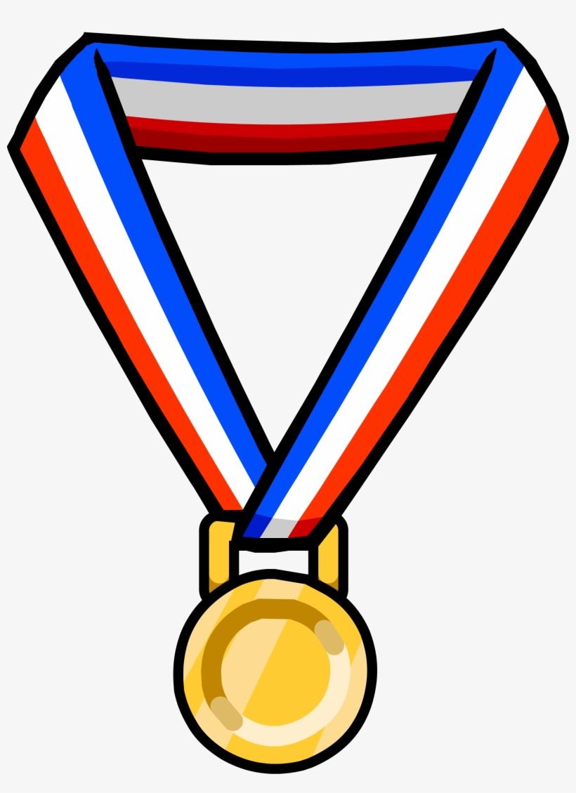 hight resolution of gold medal olympic medals transparent background