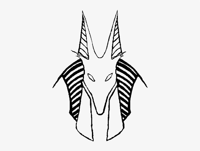 Kisekae 2 Prop Anubis Helm Outline By Zebuta D7rai5f Egyptian