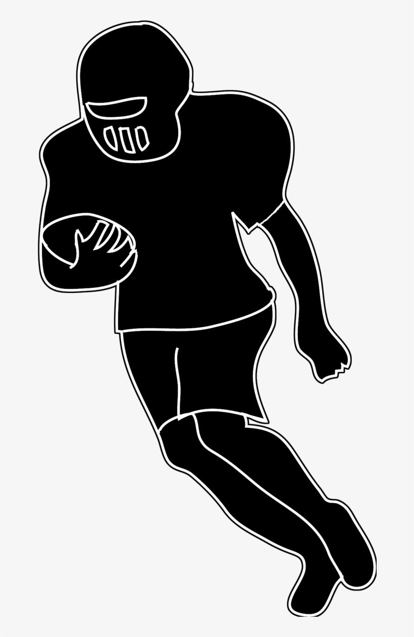 hight resolution of silhouettes of people silhouette clipart american football player png clipart