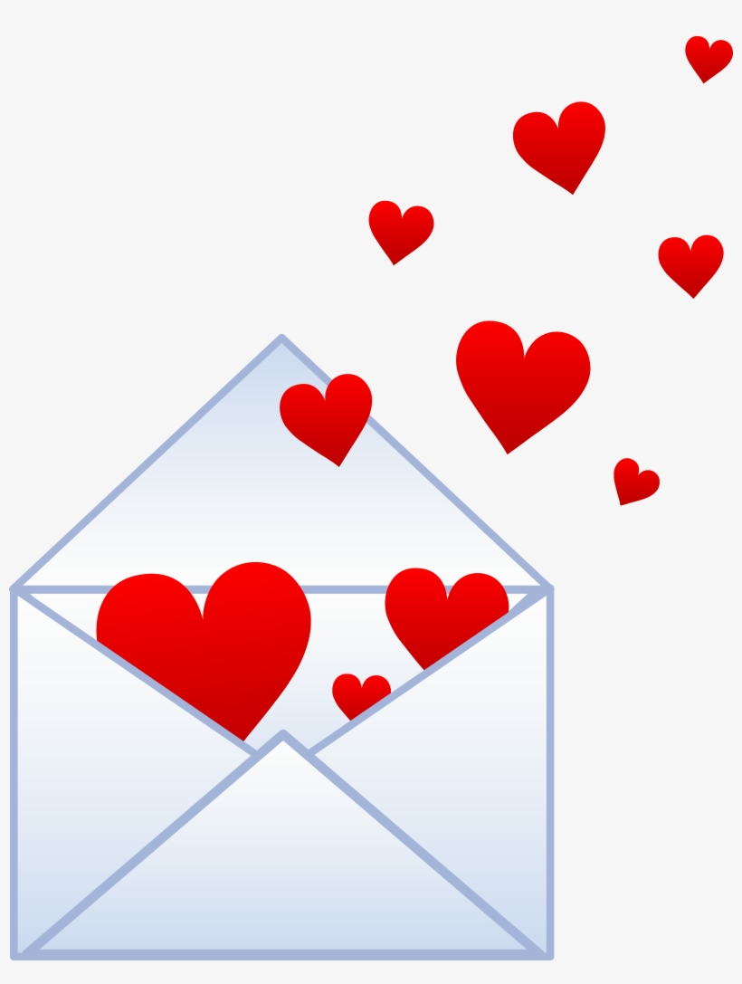 hight resolution of love love letter clipart