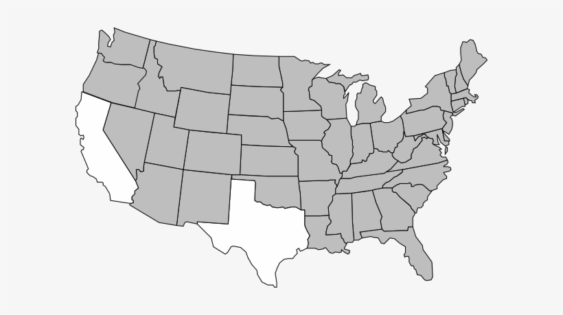 See how fast you can pin the location of the lower 48, plus alaska and hawaii, in our states game! Usa Map Clip Art United States At Clker Vector Online Us Map States Vector Free Transparent Png Download Pngkey