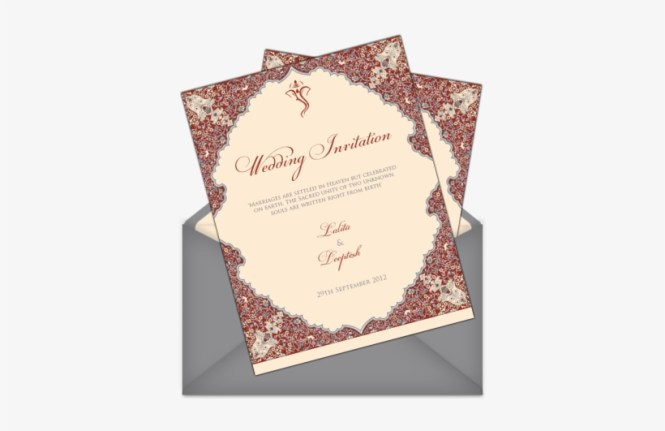 Invitations For Indian Weddings Wedding