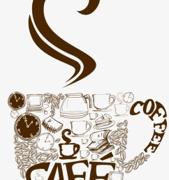 decorative coffee cup png vector clipart cup coffee png vector [ 820 x 1215 Pixel ]