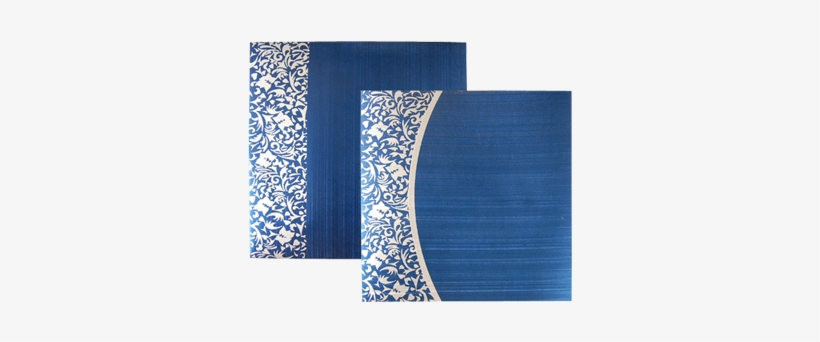muslim wedding card designs blue
