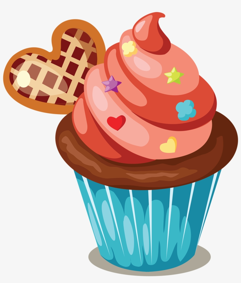 medium resolution of cupcake icing birthday cake muffin clip art cakes and cupcakes clipart