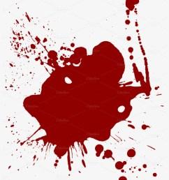 realistic dripping blood png cartoon blood splatter transparent [ 820 x 1024 Pixel ]