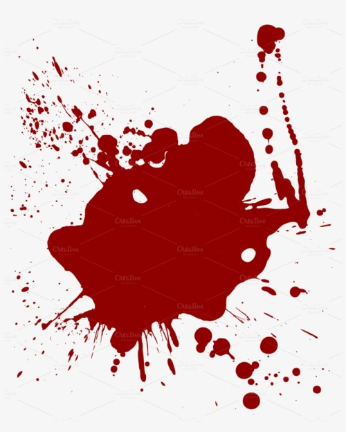 small resolution of realistic dripping blood png cartoon blood splatter transparent