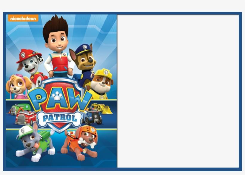 free invitations templates paw patrol