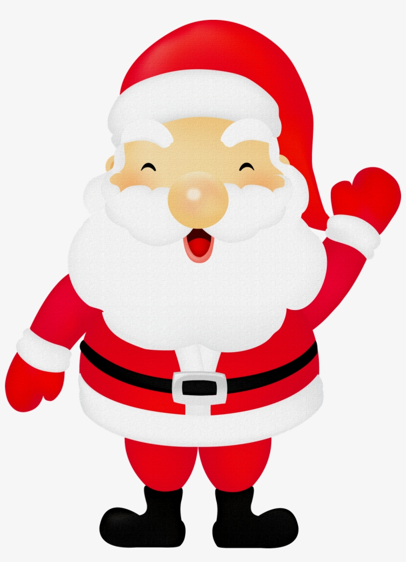 hight resolution of papai noel png cute santa claus clipart
