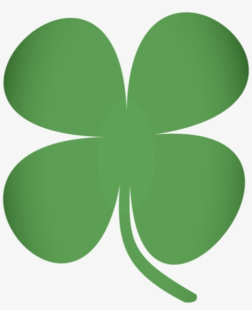 small resolution of shamrock clipart transparent background four leaf clover clip art