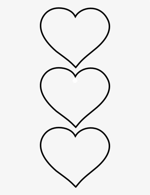small resolution of clipart heart shape clip art hearts black and white