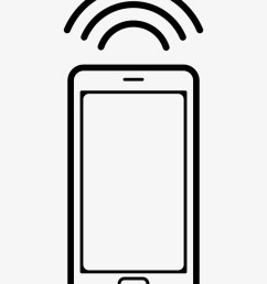 mobile phone with connection signal comments phone clipart ring [ 820 x 1060 Pixel ]