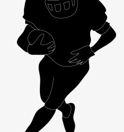 football silhouette free download clip art on in player football player clipart no background [ 820 x 1261 Pixel ]