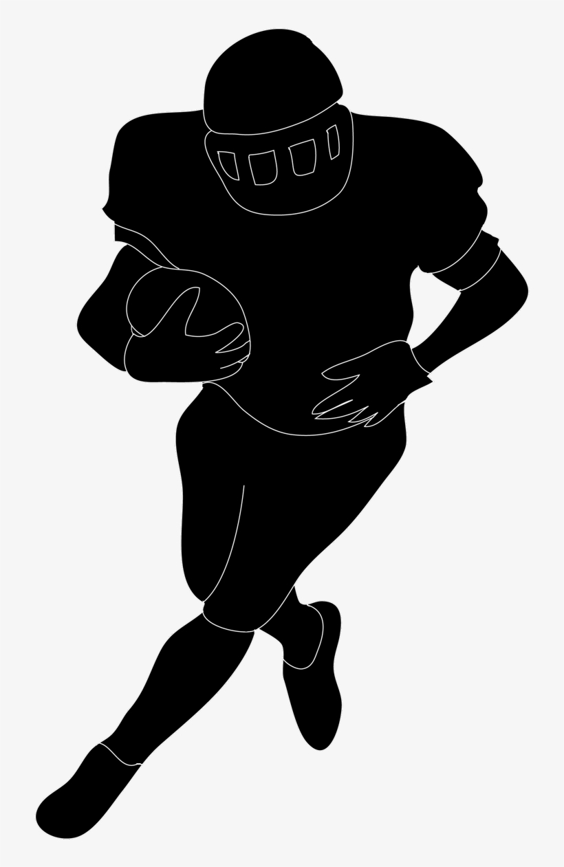 hight resolution of football silhouette free download clip art on in player football player clipart no background
