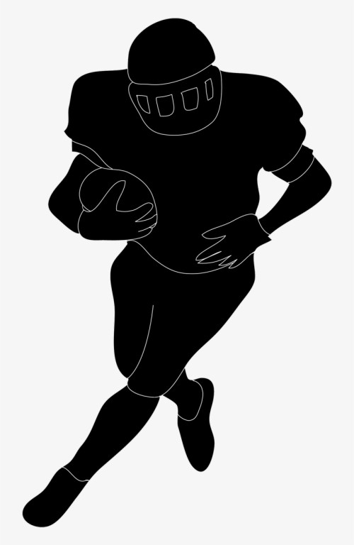 small resolution of football silhouette free download clip art on in player football player clipart no background