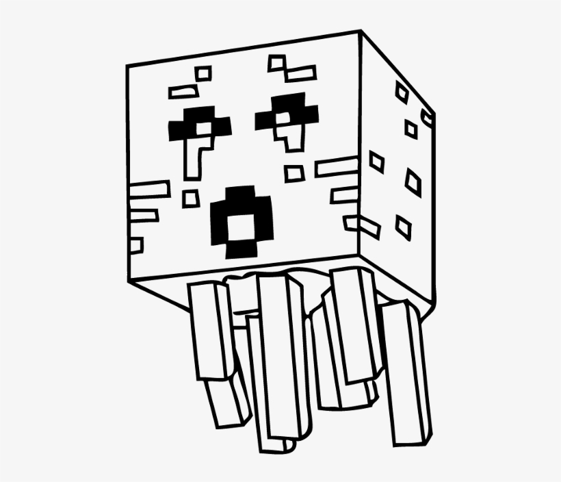 Coloring Pages Drawing Minecraft Free Transparent Png Download