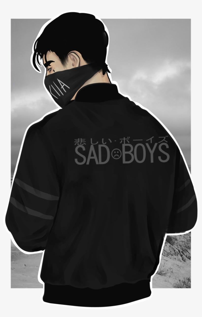 yükle png sad boy