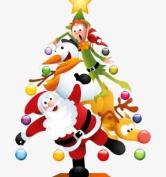 funny transparent christmas tree christmas fun clipart [ 820 x 1074 Pixel ]