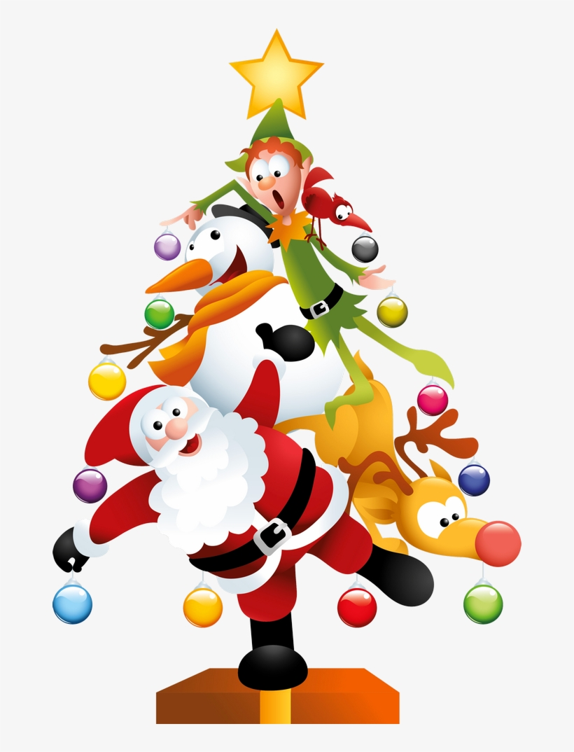 hight resolution of funny transparent christmas tree christmas fun clipart