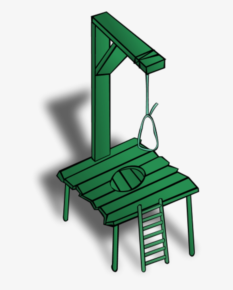 hight resolution of noose capital punishment clipart