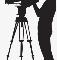picture black and white stock camera man clipart camera operator png [ 820 x 1513 Pixel ]