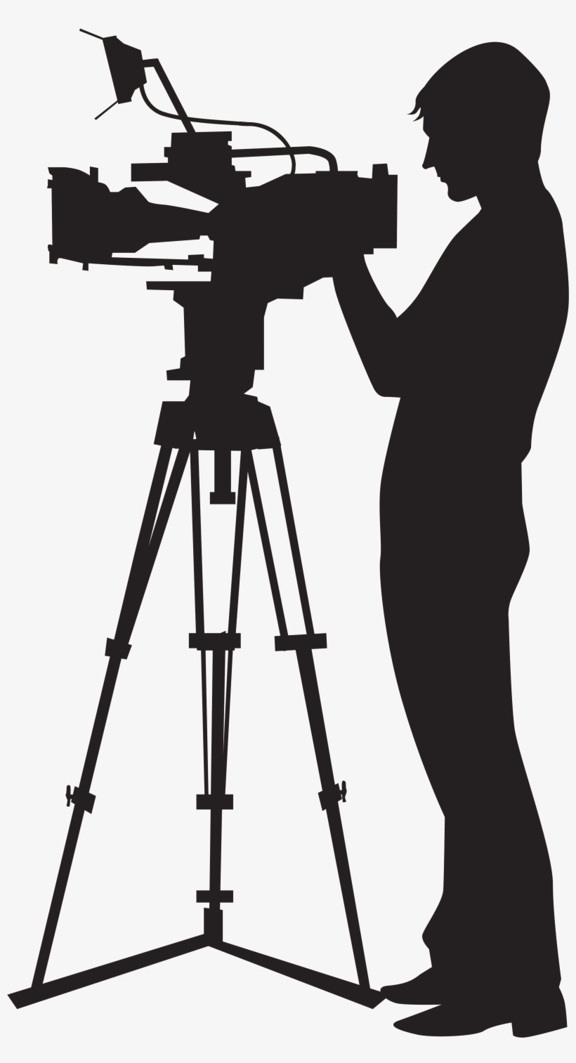 hight resolution of picture black and white stock camera man clipart camera operator png
