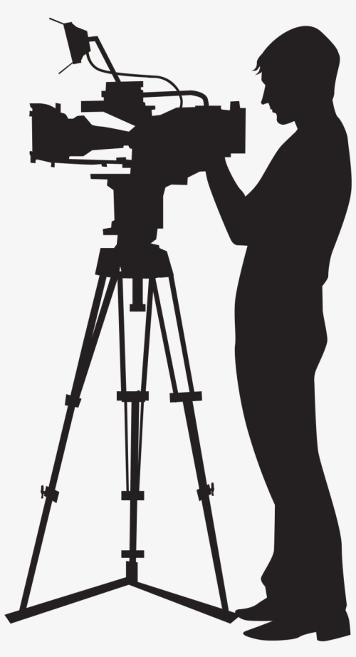 small resolution of picture black and white stock camera man clipart camera operator png